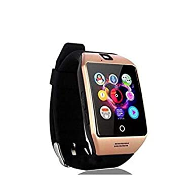 Amazon.com: Meflying Unisex Fashion Multi-Functional Square Q18 USB Touch Screen Smartw Smart Watches: Cell Phones & Accessories