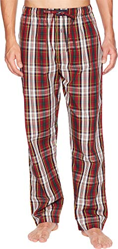 - Polo Ralph Lauren Men's Woven Pajama Pants Corby Plaid/Cruise Navy Pony Print Small