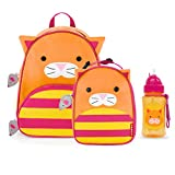 Skip Hop Zoo Backpack, Lunchie, and Bottle Set, Cat
