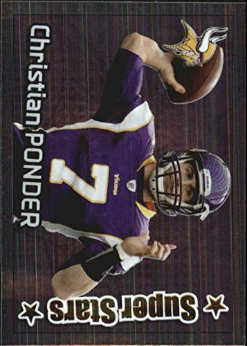 2012 Panini Stickers #340 Christian Ponder SS FOIL - NM-MT