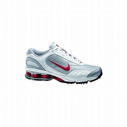 quality design a6dd0 ec8c3 Amazon.com   Nike Shox Golf Shoes (White Red, 10, Medium) 312404 Waterproof    Camera   Photo