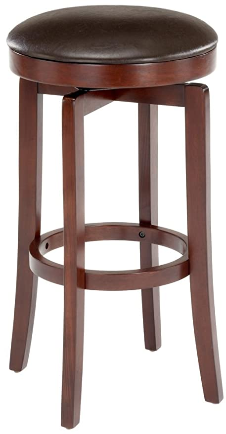 Amazoncom Malone Backless 25quot High Counter Stool Kitchen