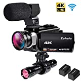 Best Camcorder For Huntings - 4K Camcorders, 48MP Ultra HD Wifi Video Cameras Review