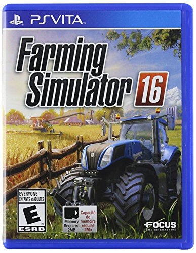 Amazon Lightning Deal 77% claimed: Farming Simulator 16 - PlayStation Vita
