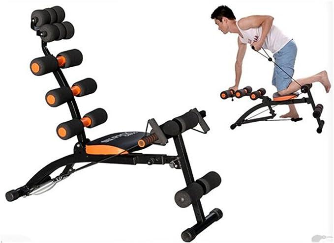 Ejercicios de casa gimnasios máquina revolucionaria para abdominales Six Pack cuidado cuerpo moto función: Amazon.es: Deportes y aire libre