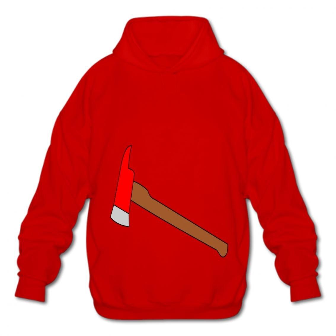 Euochengqus Hooded Fashion Hoodies-03 Cartoon Fire vnwt Cotton Pullover Sweatshirts Fashion Mens