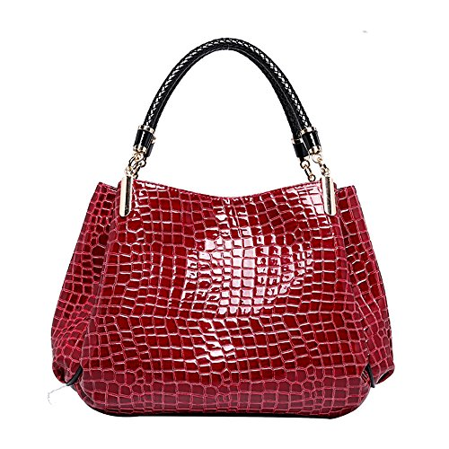 PU Leather Crocodile Pattern Leather Shoulder Bag Luxury Messenger Bag For Women - Ireland Ray Bans