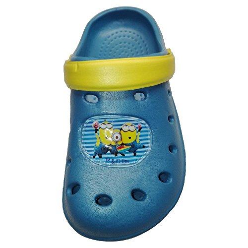 Benvolino Minion Clogs Blau
