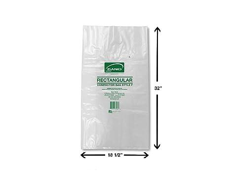 Amazon.com: Compactor bolsas para rectangular contenedor (50 ...