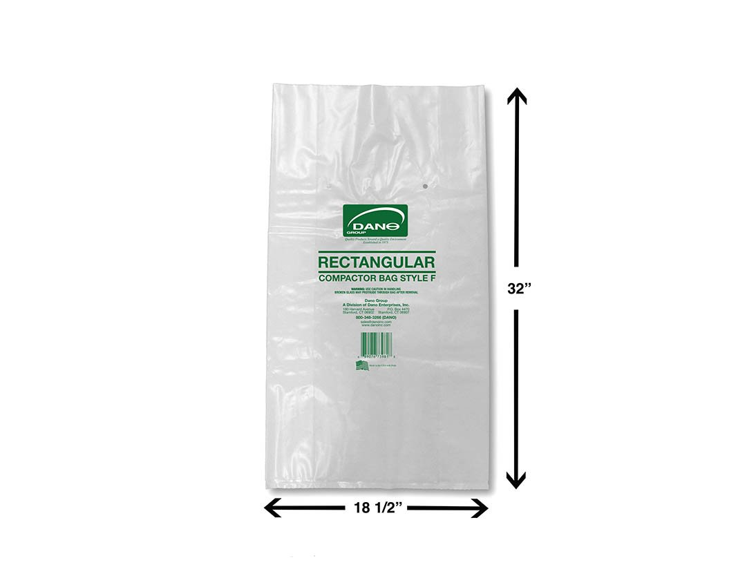 Compactor Bags for Rectangular Container (50 Pack)