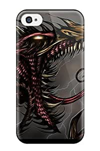 TYH - Awesome Case Cover Compatible With ipod Touch 4 - Dragon phone case