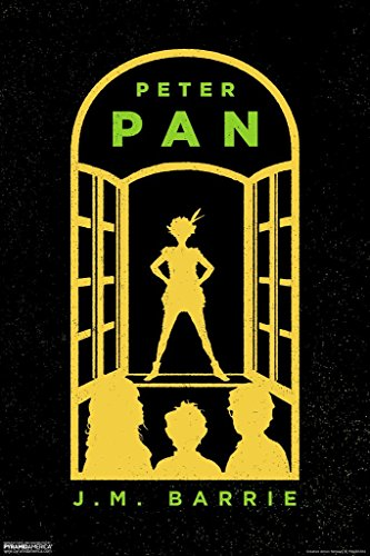 Pyramid America Peter Pan JM Barrie Window Art Print Poster