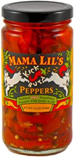 product image for Mama Lil's Kick Butt Goathorn Peppers, 12 oz