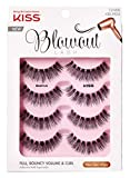 Kiss Blowout Lashes Beehive 4-Pairs (3 Pack)