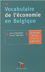 Vocabulaire de l économie en belgique 4ème edit