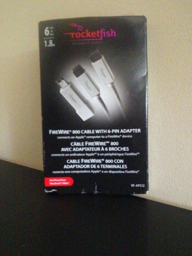 UPC 600603139598, Rocketfish Mac/ PC FireWire 800 Cable w/adapter