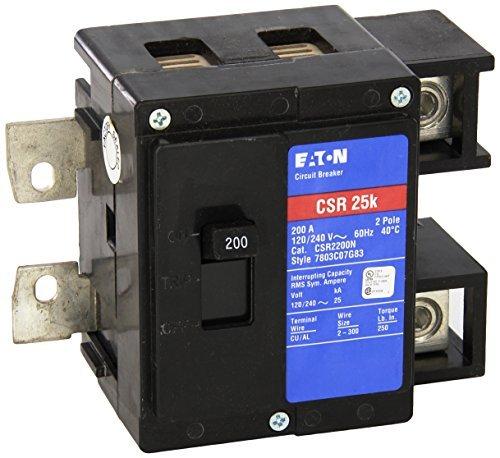 1- PERFECT USED LIKE NEW Eaton CSR2200N CH Main Breaker Kit, 200 Amp 2 POLE CUTLER HAMMER