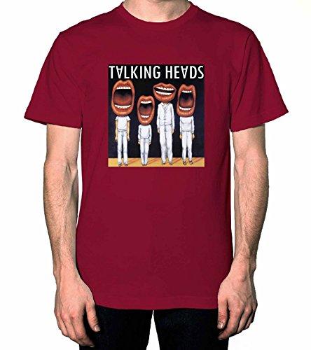 Talking Heads Mens Tshirt Cardinal Red M WF ()
