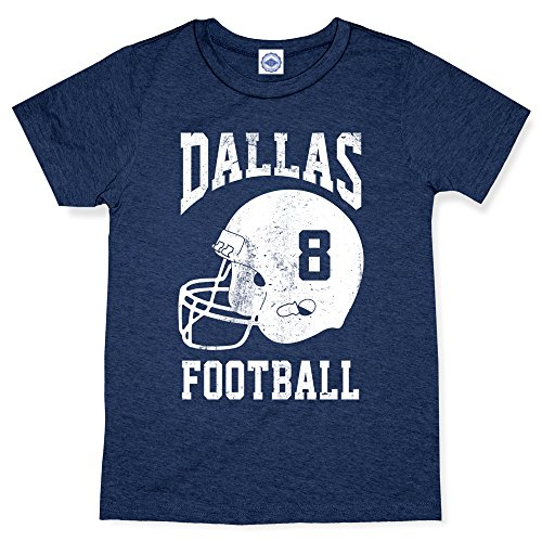 Hank Player U.S.A. Dallas Football Men's T-Shirt (XL, Heather Navy)