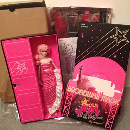 Jem and the Holograms Collection Broadway Magic Jem Doll with Stage