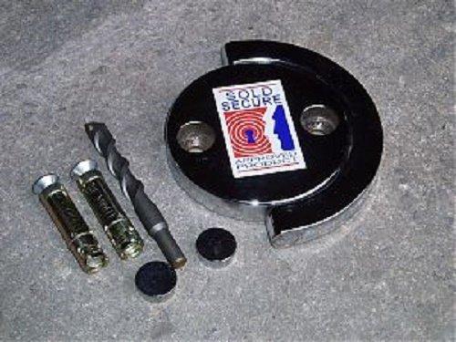 Squire ex-caliber 14 mm x 1,5 m de cadena con un SS50CS Candado combinado con una nueva evolución Ground Anchor: Amazon.es: Bricolaje y herramientas