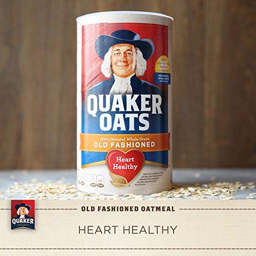 030000010204 - Quaker Oats Old Fashioned Oatmeal, 18 oz Canister carousel main 9