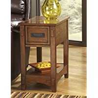 Breegin Brown Color Chair Side End Table