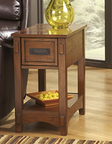 Breegin Brown Color Chair Side End Table For Sale