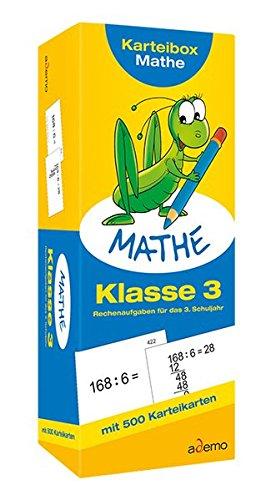 Karteibox Mathe, Klasse 3: Rechenaufgaben für das 3. Schuljahr