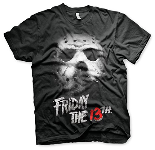 Friday The 13th T Shirt Logo Official Mens Black -