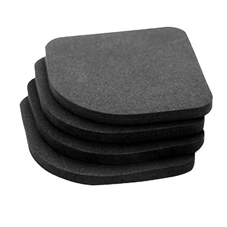 4 Pcs Tampon Pad Anti Vibration Pour Machine A Laver Tapis