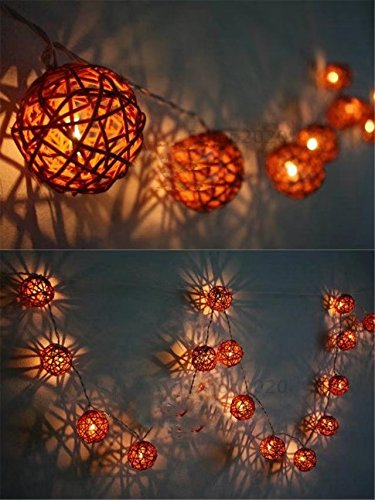 christmas tree decoration indoor atmosphere light 1 meter rattan bulb lamp string of led colored