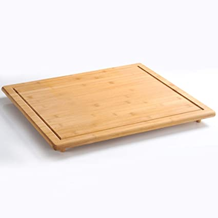 Compra Kesper 58599 Tabla para Cortar y Protector, de bambú ...