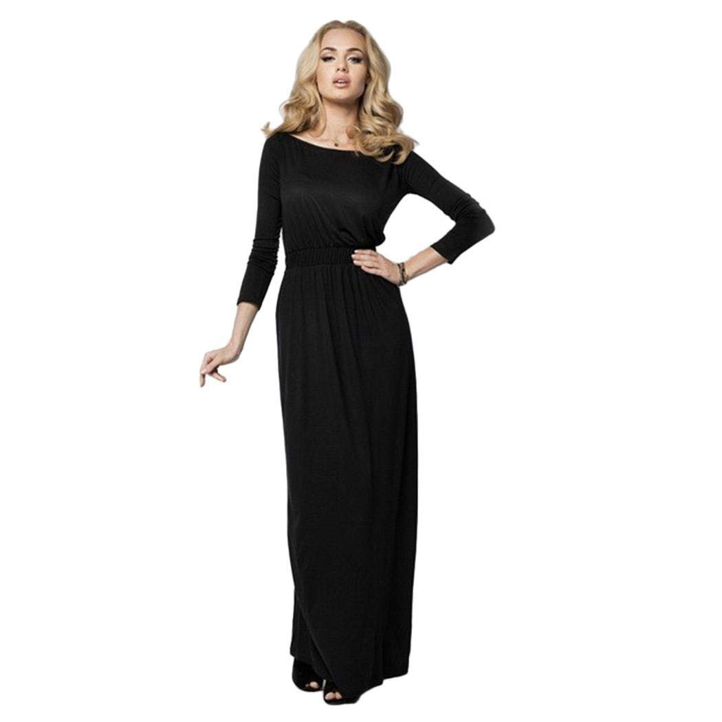 088649e258c8 Giuoke dresses for women party women fashion slash neck a line pleated sexy  long dress clothing