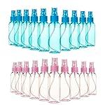 Mist Mini Spray Bottles with Atomizer Pumps - 20-Piece 40-Piece Set, 80ml