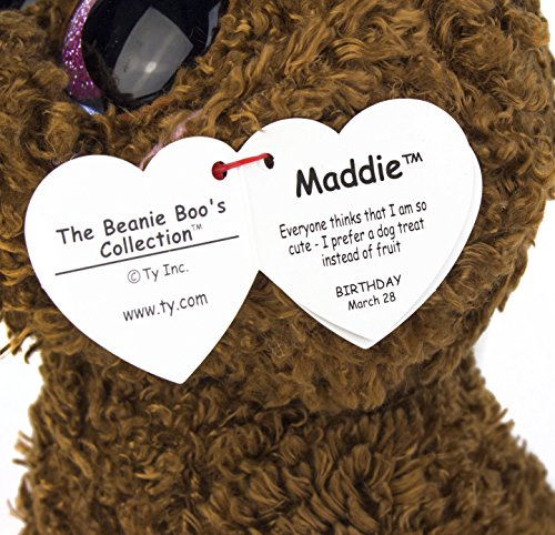 Maven Gifts Ty Beanie Boos 2 Pack Maddie The Brown Dog