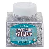 Sulyn 2-Ounce Glitter Stacker Jar, Sterling