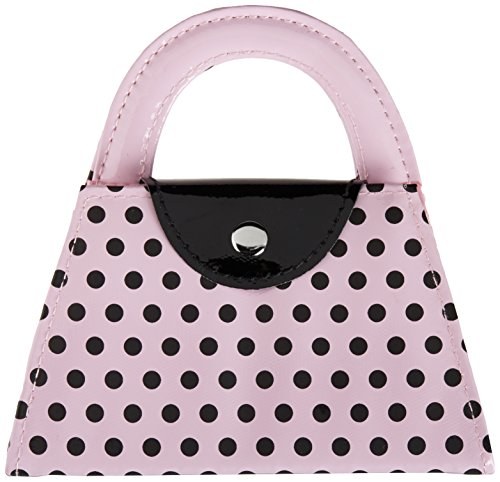 Kate Aspen Pink Polka Purse Manicure Set, Pink -