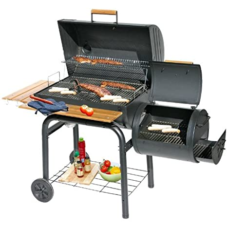 Grill`n Smoke Smoking Classic Barbecue Grill & Smoker *