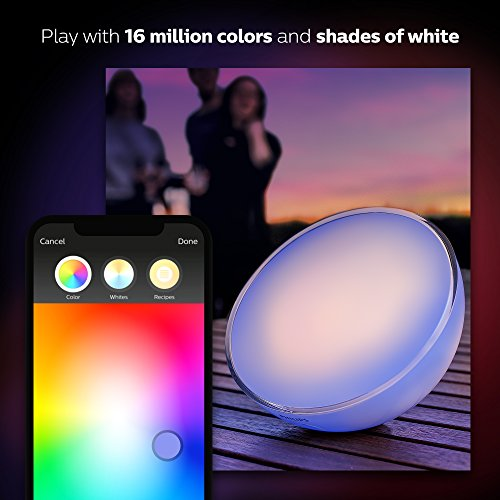 Philips Hue Go White and Color Portable Dimmable LED Smart Light Table Lamp (Requires Hue Hub, Works with Alexa, HomeKit and Google Assistant) by Philips (Image #6)