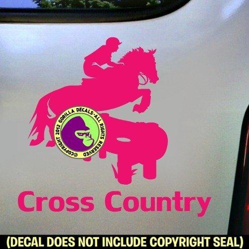 CROSS COUNTRY Vinyl Decal Sticker D