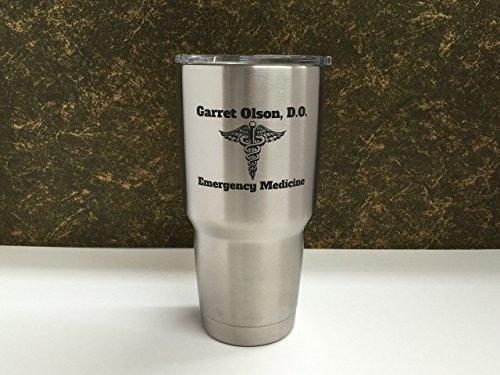 Medical Caduseus Rambler Custom Stainless product image