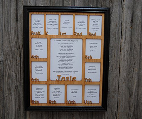 school picture frame k 12 - 7