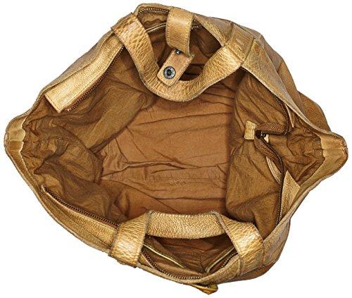 Taschendieb - Td0117ol, Bolsos maletín Mujer, Grün (Olive), 14x39x50 cm (B x H T)