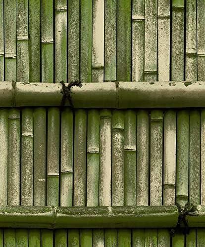 壁紙アプリ取り外し可能な壁紙の皮とスティックの壁紙 レトロ竹のような竹編み防水の壁紙特集竹レストランスタディバーの壁紙ベッドルームリビングルームキッチンバスルームの壁壁紙装飾壁装飾材 (Size : D)