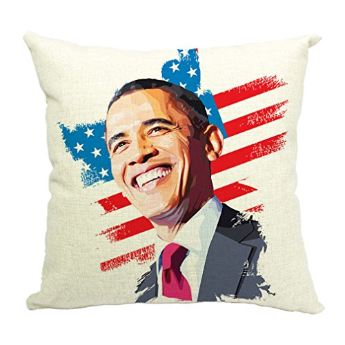 Xiang Ru Square Decorative Cotton Throw Pillow Case Cushion Cover 4545cm ()