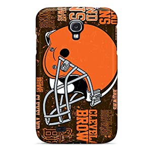 Nillesny LRD1806YtfN Case Cover Galaxy S4 Protective Case Cleveland Browns