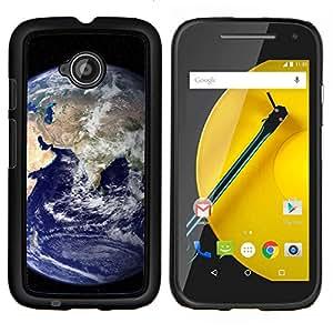 "Be-Star Único Patrón Plástico Duro Fundas Cover Cubre Hard Case Cover Para Motorola Moto E2 / E(2nd gen)( Tierra azul del planeta Inicio Ver espacio Distante"" )"