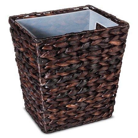 New Wastebasket Dark Weave ™