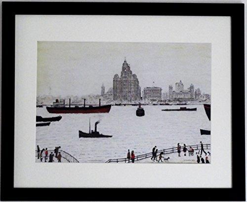 Lowry Large Black Framed Print /